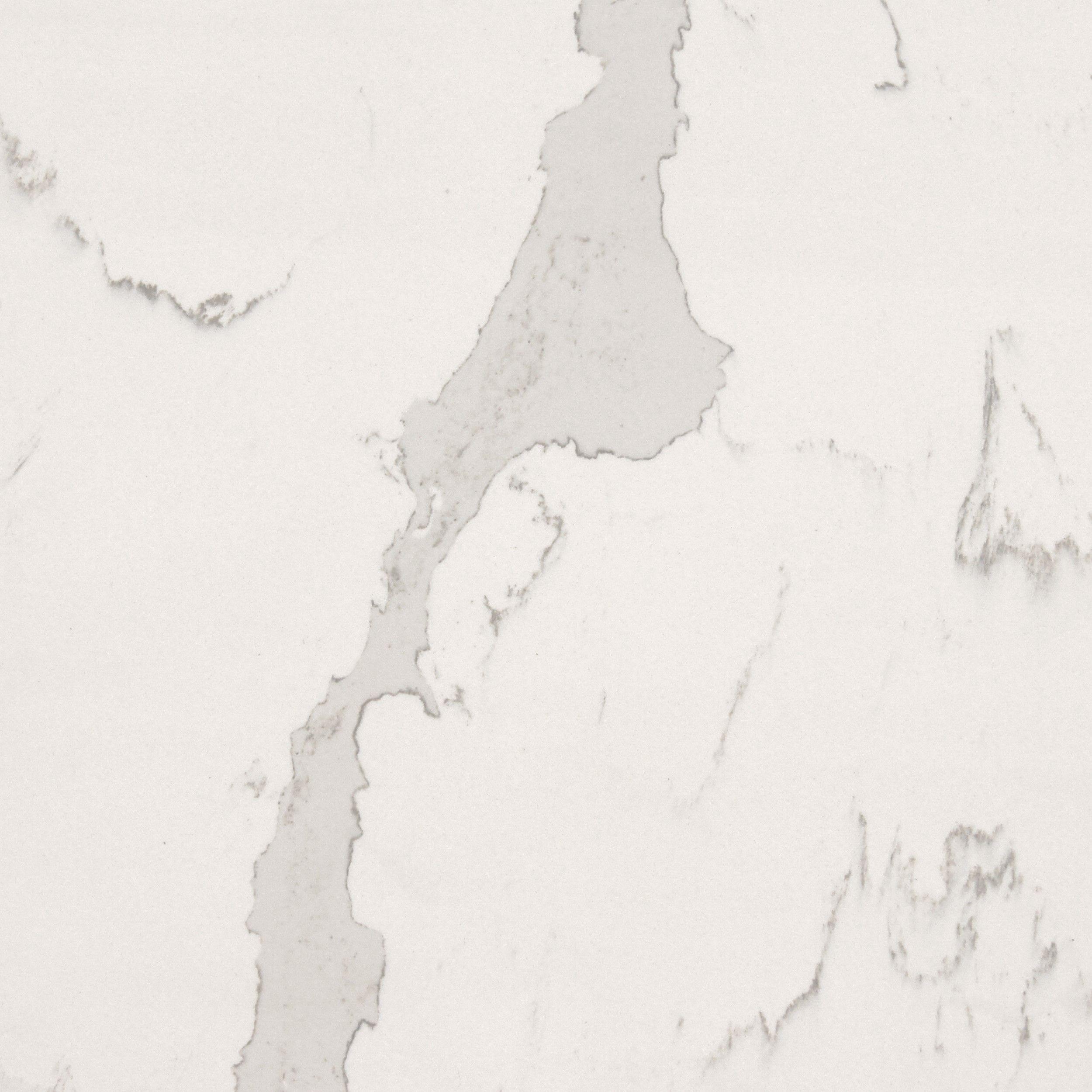 A Premium Marble Effect Quartz Worktop Which Is Pure White