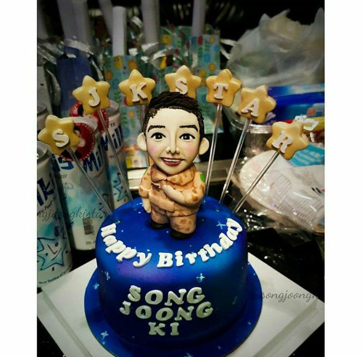 Song Joong Kis Birthday Cake Korean Pop Culture K Drama K Pop
