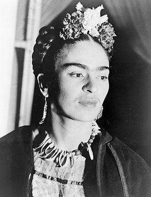 """""""The art of Frida Kahlo is a ribbon around a bomb."""" Andre Breton"""