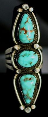 Turquoise ring A+V