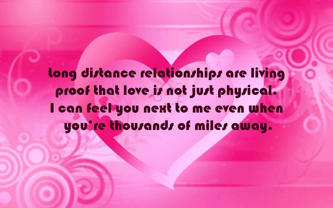 Valentines Message For Long Distance Relationship