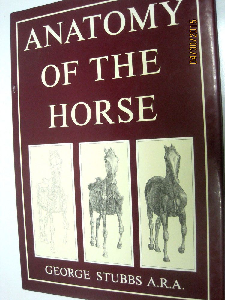 Anatomy of the Horse George Stubbs #Textbook | BOOKS Books....books ...