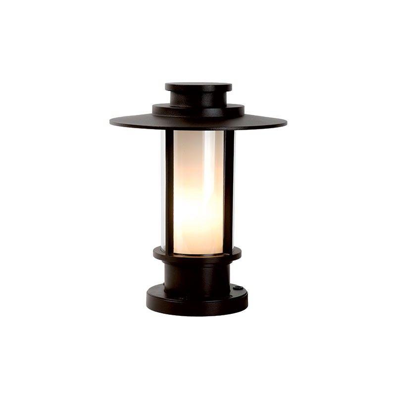 Lucide goess outdoor pedestal light brown outside lighting lucide goess outdoor pedestal light brown aloadofball Gallery