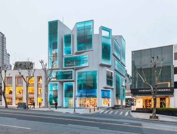 MVRDV Gangnam Style Chungha Building
