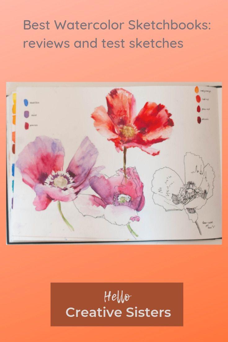 Best Watercolor Sketchbook : watercolor, sketchbook, Watercolor, Sketch, Books, Book,, Sketchbook,, Sketchbook