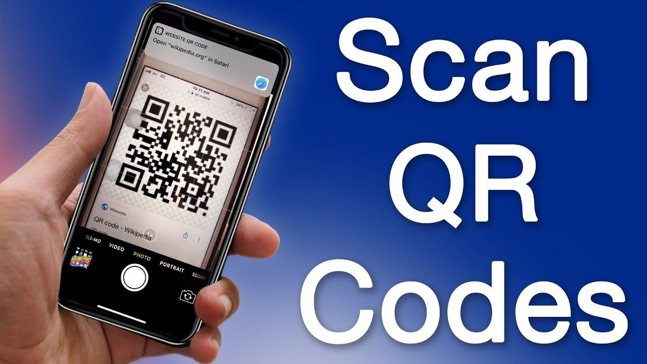 How to Scan QR Codes With iPhone Camera App Works on iOS