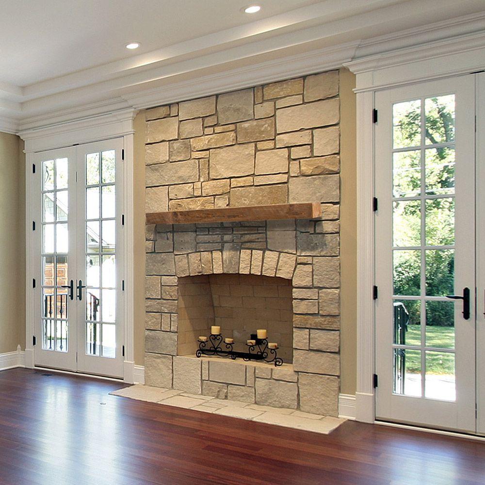 Vail Wood Mantel Shelf Fireplace Mantel Shelves Floating