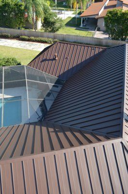 Best This Kendall Fl Roof Just Received An Exquisite Standing 400 x 300