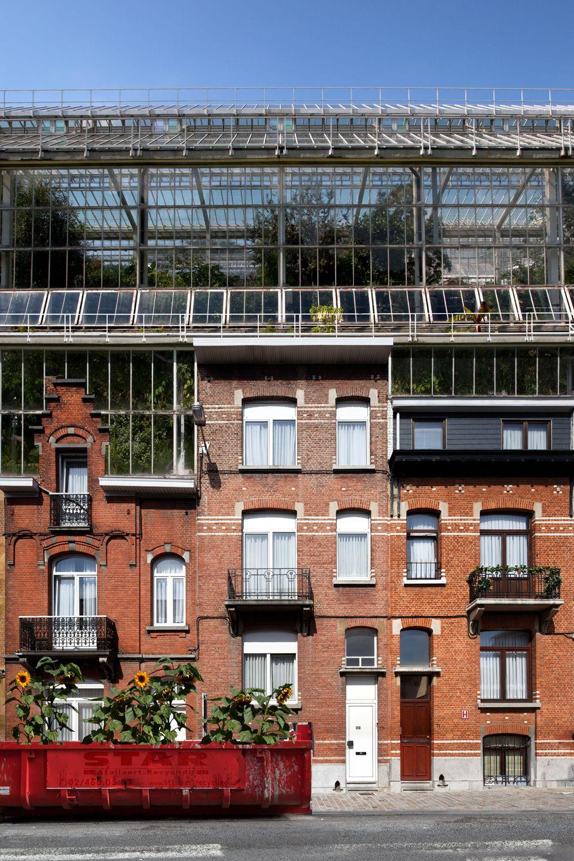 Urban Greenhouse Architectuur Tuin Gebouwen