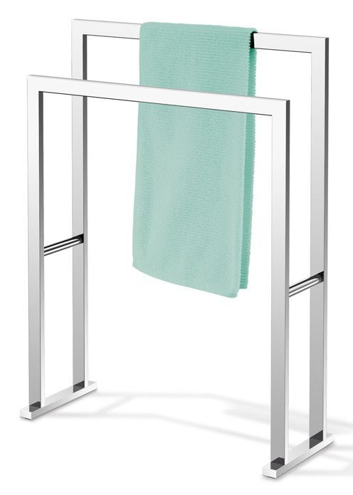 Linea Free Standing Towel Rack Bathroom Master