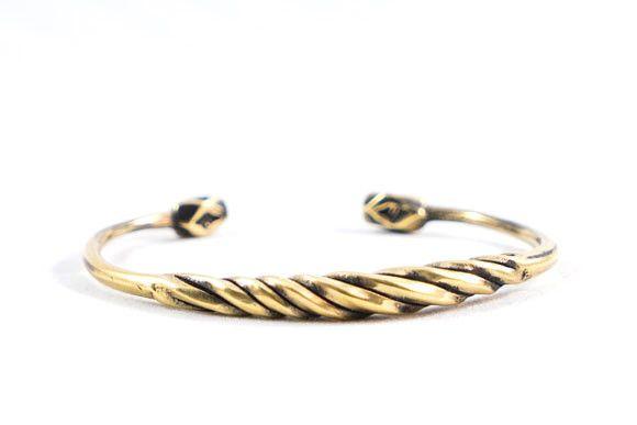 Spinnerette Bronze Cuff