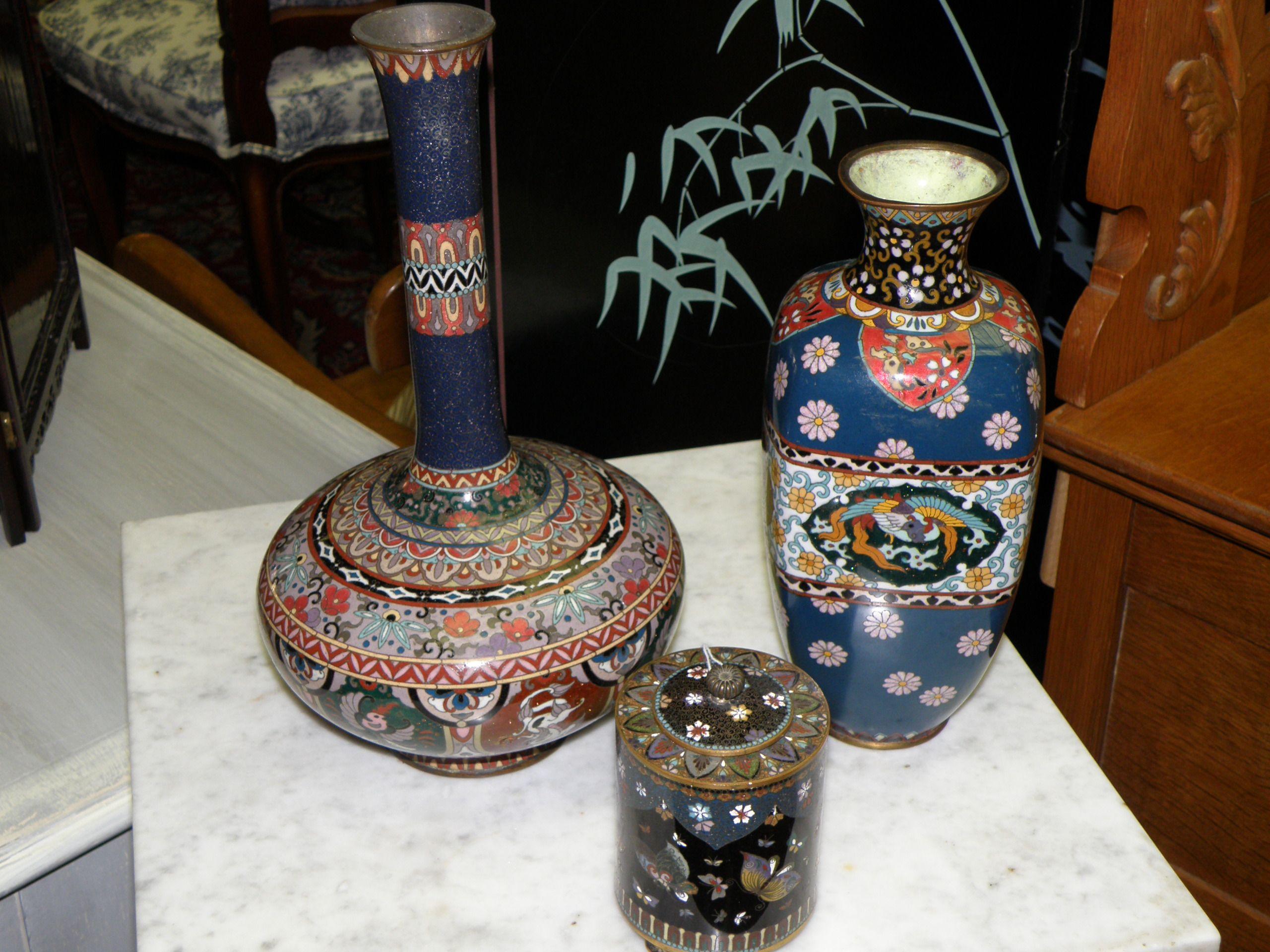 19th c antique japanese vase 19th c japanese covered jar 19th 19th c antique japanese vase 19th c japanese covered jar 19th century cloisonne vase reviewsmspy