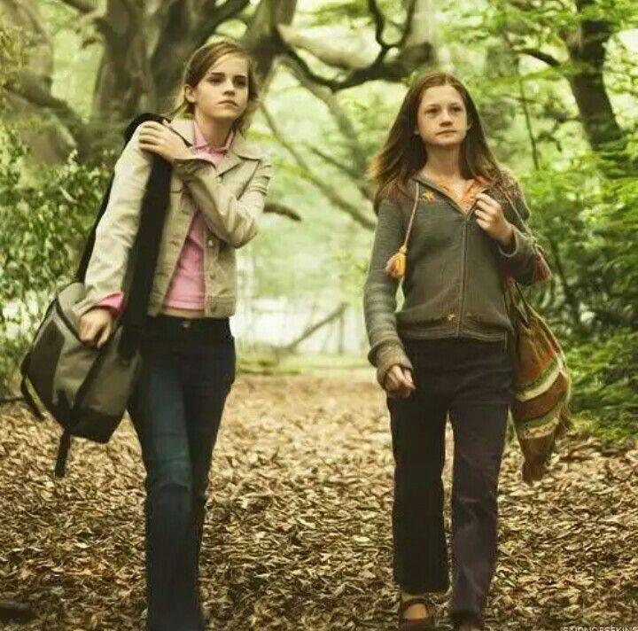 Hermine und Ginny | Harry potter hermione, Harry potter
