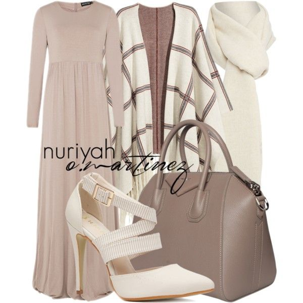 Hijab Outfit #652 by hashtaghijab on Polyvore featuring Hu0026M Givenchy Boutique Moschino and ...