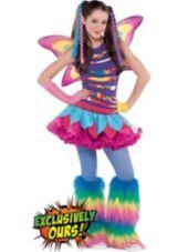 3f25ca6b48 Girls Rainbow Fairy - Party City   Maddie's likes!   Rainbow fairies ...