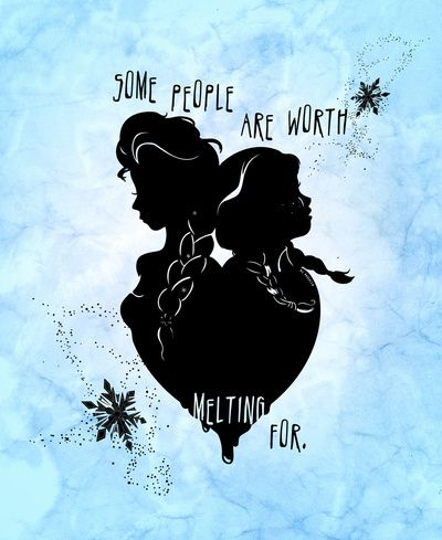Some people are worth melting for Artwork