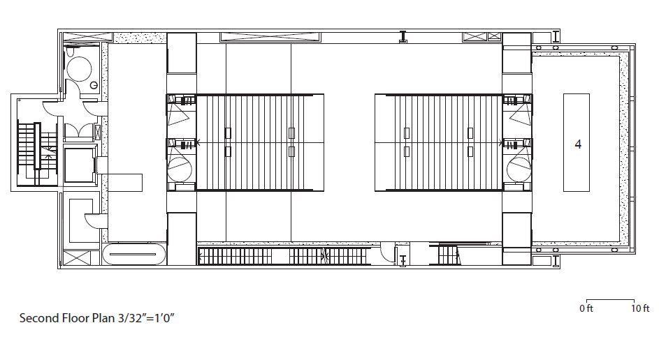 Prada Store Second Floor Plan Store Layout Floor Plans Design
