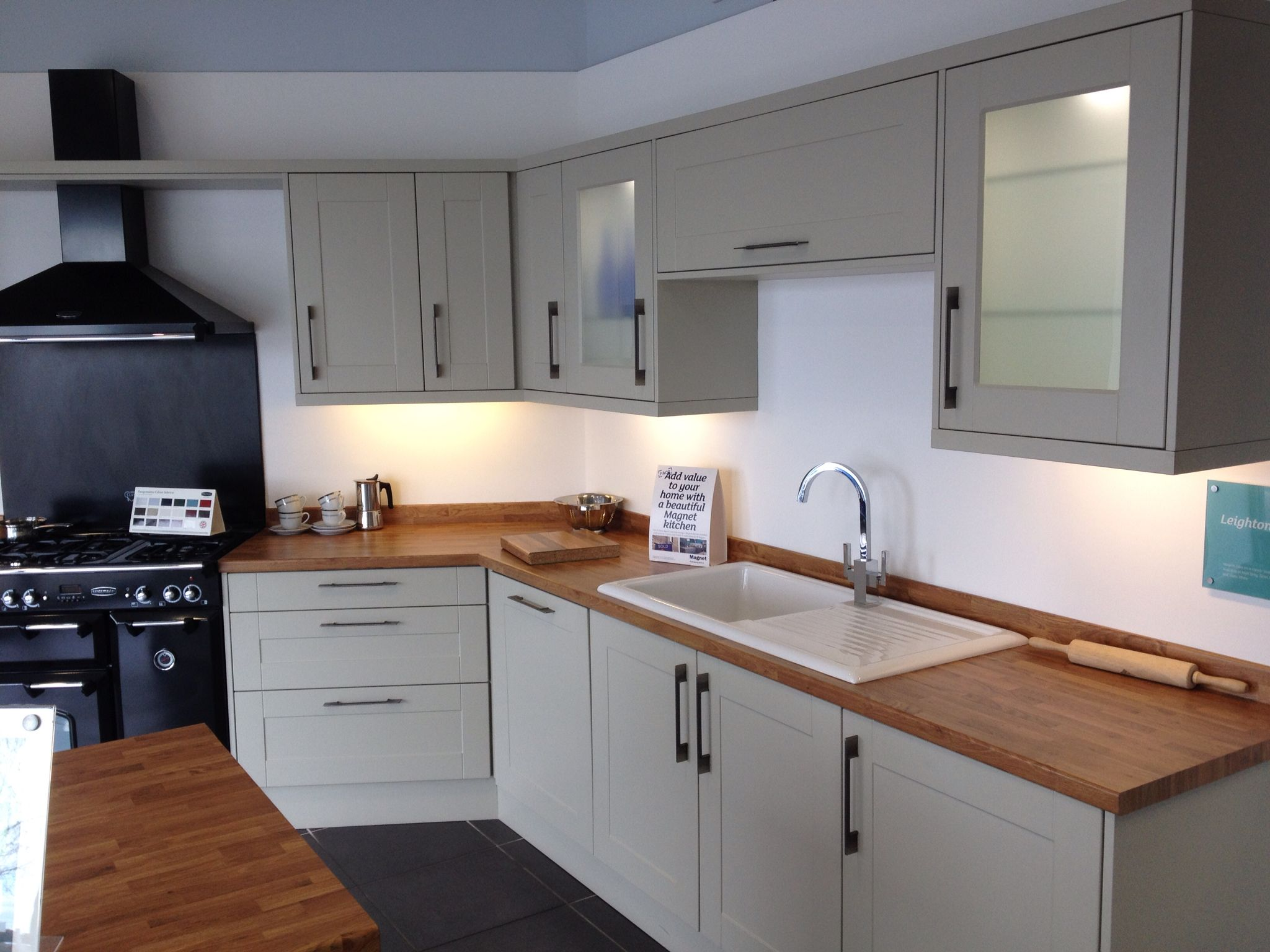 Magnet Hudson Grey Kitchen