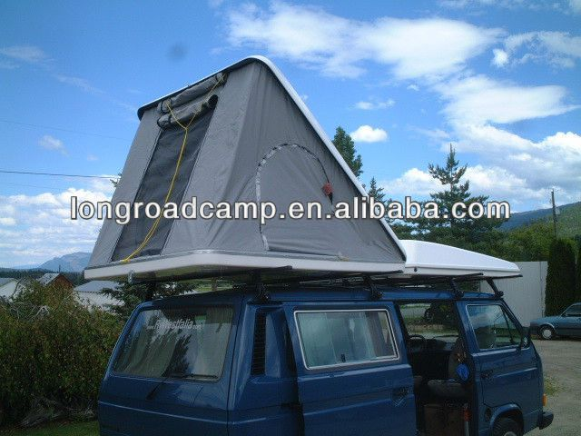 Homemade Car Top Tent hard shell roof top tent & Homemade Car Top Tent hard shell roof top tent | Hard Shell Roof ...
