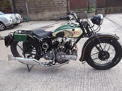 1937 Bsa G14 Vtwin 1000cc Sv