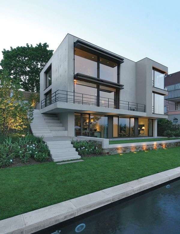 Concrete Cube With Remote Control Architektur Haus Haus