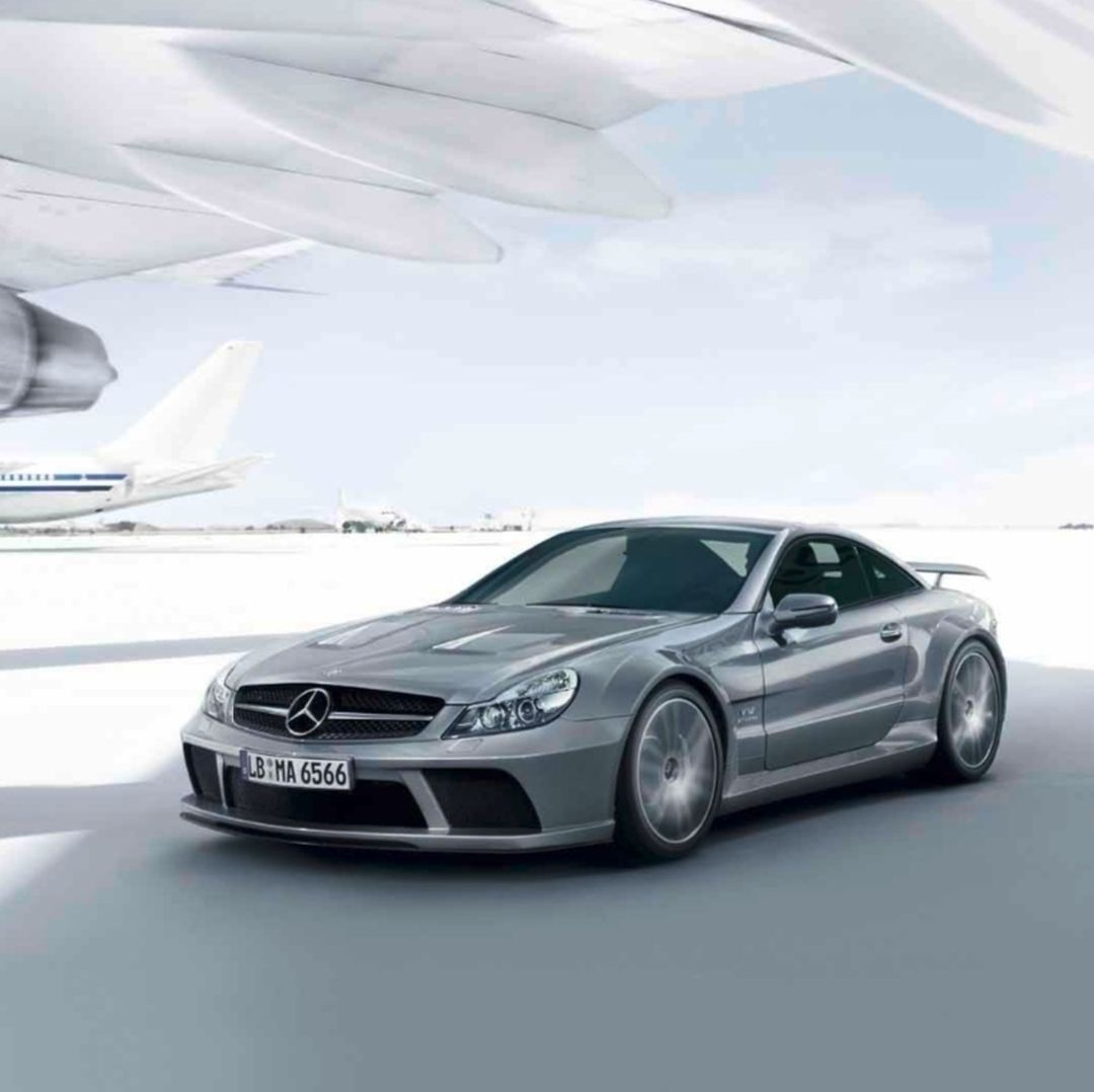 The MercedesBenz SL 65 AMG Black Series was the most