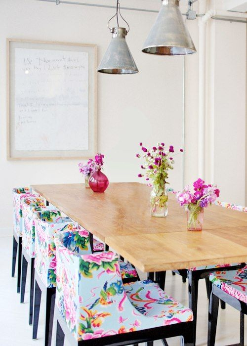 Home Decor || floral printed dining chairs - Home Decor |floral Printed Dining Chairs Floral Prints