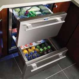 Major Kitchen Appliances Extra Cooling Drawers Are Increasing In Popularity Major Kitchen Appliances Undercounter Refrigerator Refrigerator Drawers