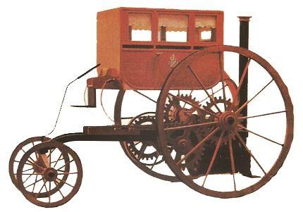 Coches a vapor. en la imagen: el coche de Richard Trevithick. Los ...
