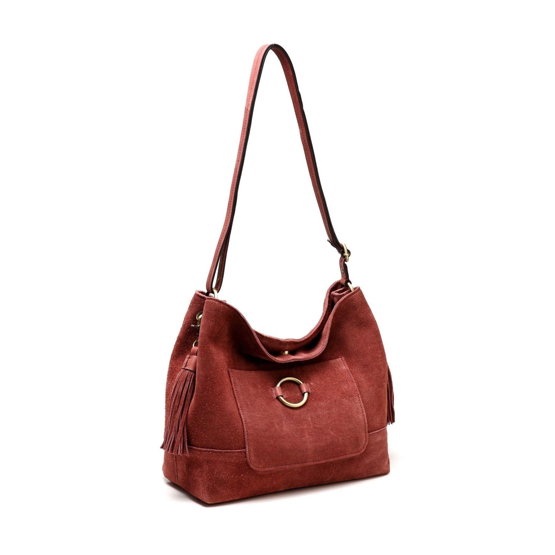 Cammi Suede Handbag -