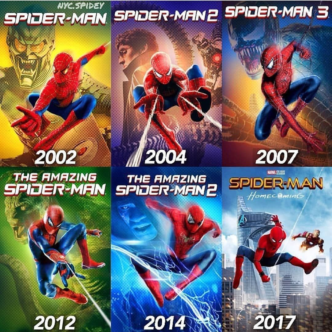 What S Your Favourite Spiderman Movie Follow For More Marvel Dc Team Turn On Post Notifications C2 Nyc Spidey Spiderman Movie Spiderman Amazing Spiderman