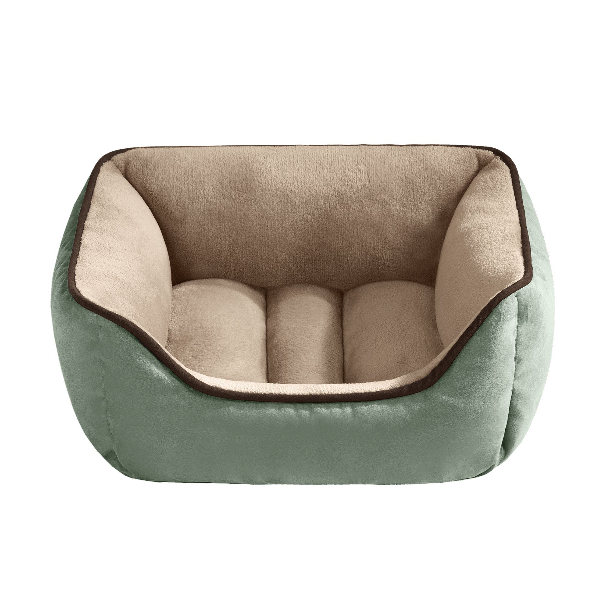 en product harmony round bed beds textured cat tan petco center in shop petcostore dog