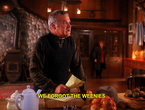 Pete forgot the weenies.
