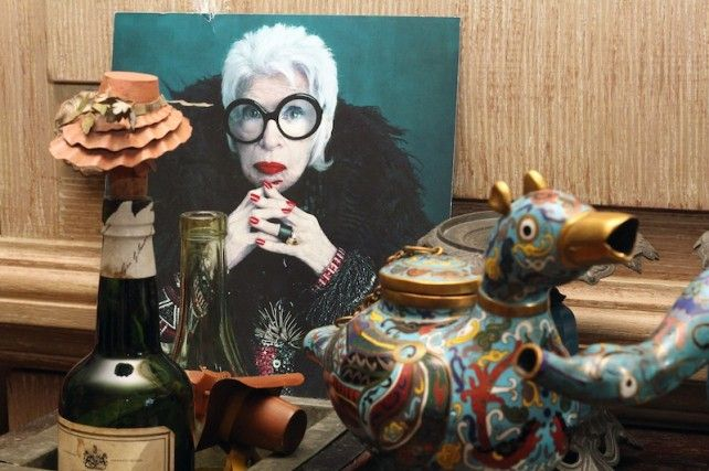 Fabulous interview with Iris Apfel: on beauty and aging