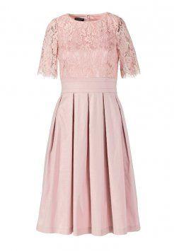 apart  cocktailkleid / festliches kleid  rose  abendkleid kleider elegante ballkleider