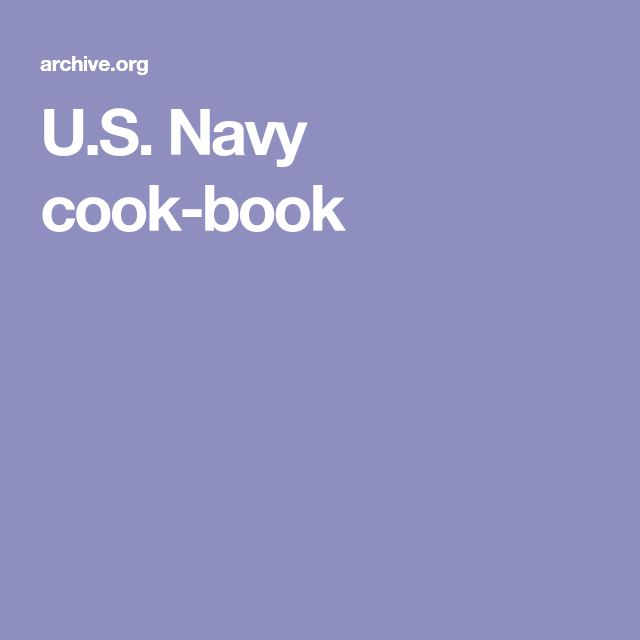 Us navy cook book cook books pinterest vintage recipes us navy cook book forumfinder Choice Image