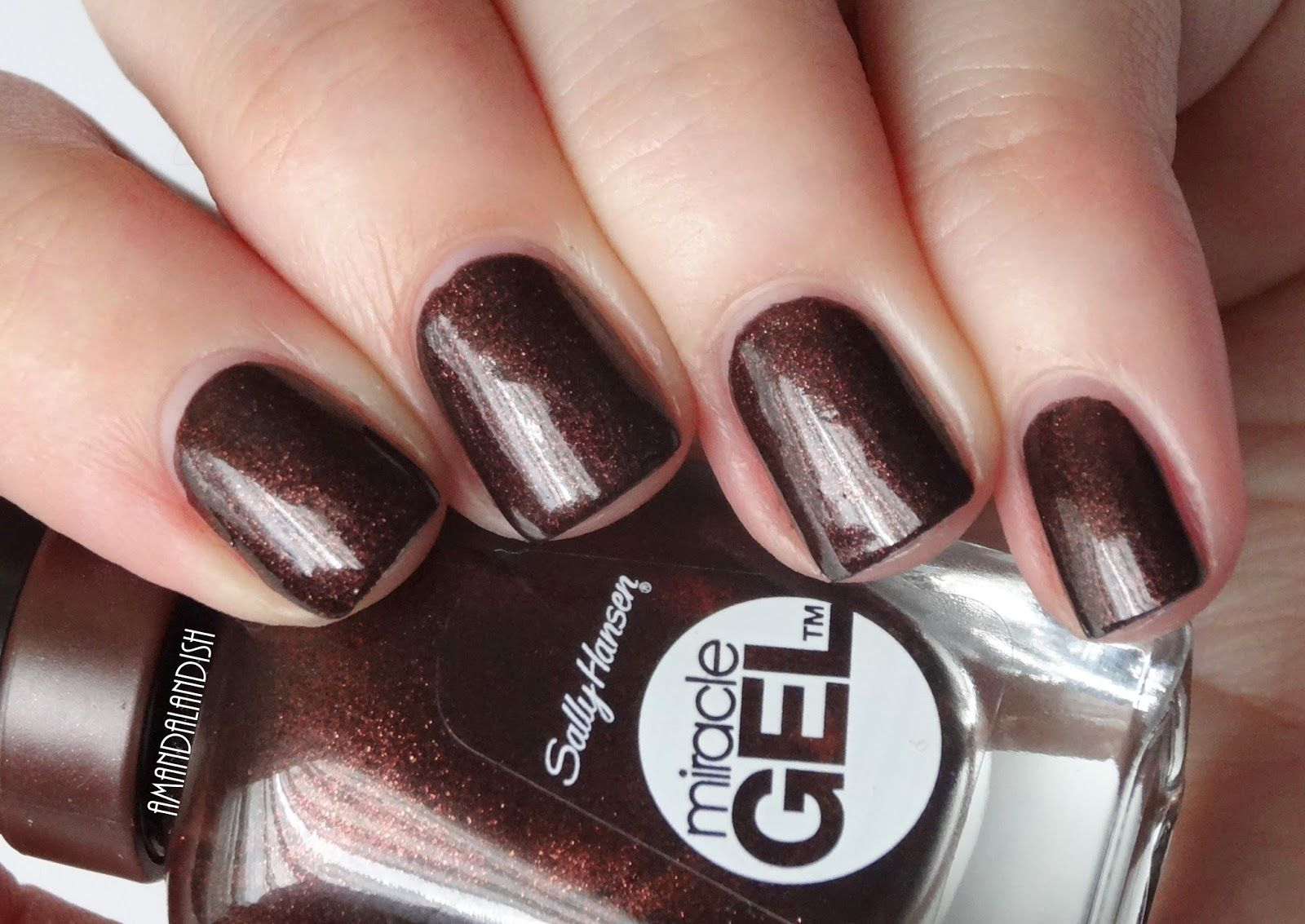 Amandalandish: Sally Hansen Miracle Gel Swatches and Review | My Gel ...