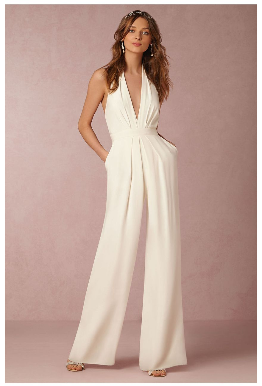 Leisure backless trousers sexy sleeveless playsuits hanging neck ...