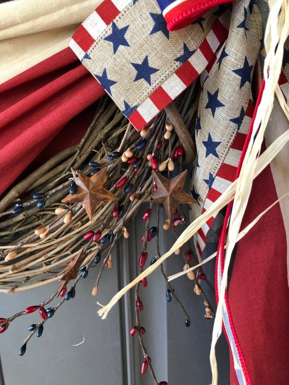 4th Of July Fireplace Decor