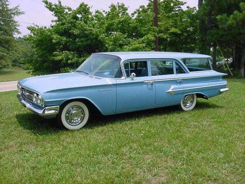 1960 Kingswood Wagon Blue 1 Station Wagon Car Station Chevrolet