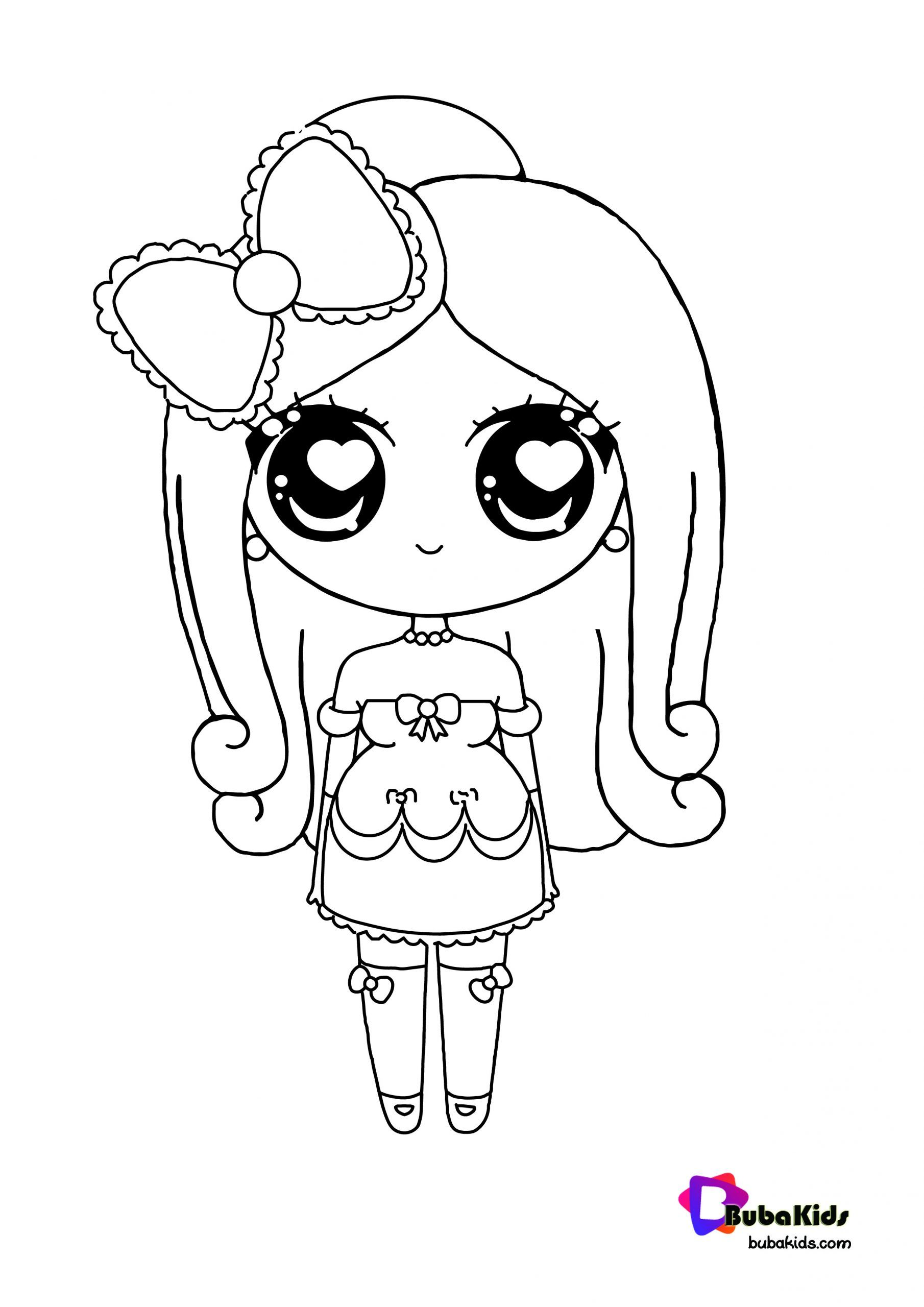 Kawaii Princess Coloring Page Collection Of Cartoon Coloring Pages For Teenage Printable That You Can Princess Coloring Pages Coloring Pages Princess Coloring