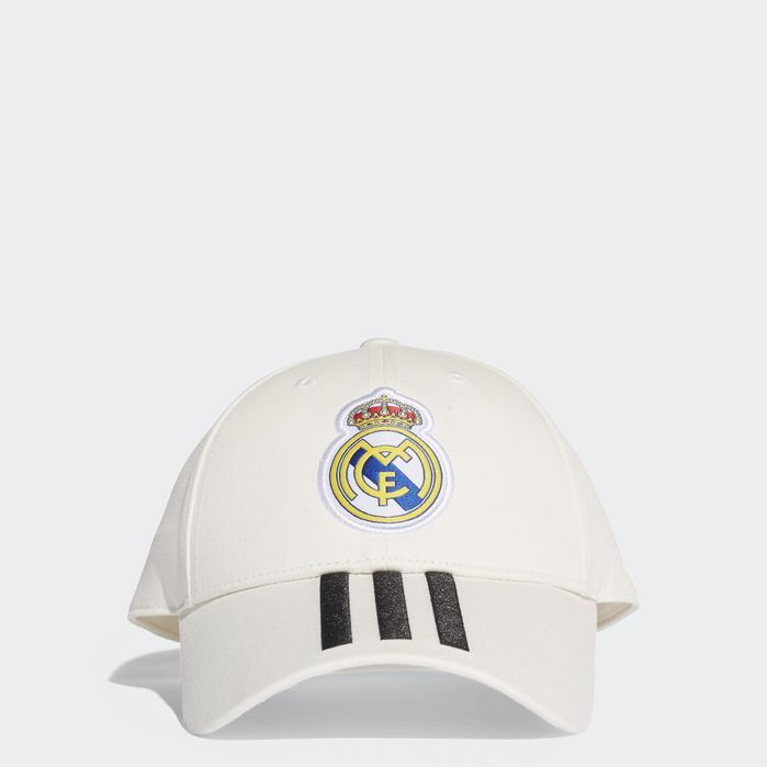 43c709f7b3b Real Madrid 3-Stripes Hat White OSFY Mens Adidas Real Madrid