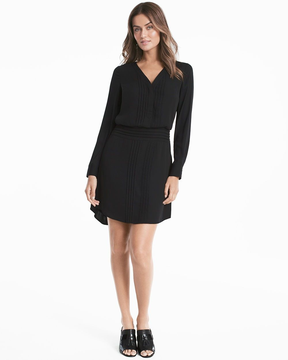 fdd7ffb01d2 You can t go wrong with this little black dress—a sleek tunic with ...