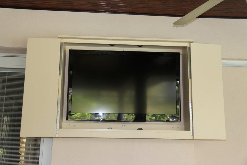 Outdoor TV Cabinets » SOLEIC OUTDOOR KITCHENS | Outdoor TV Enclosure ...