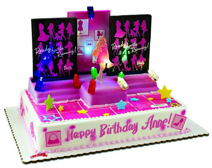 Astounding Foodie Friday Red Ribbons Barbie Birthday Cakes With Images Funny Birthday Cards Online Inifofree Goldxyz