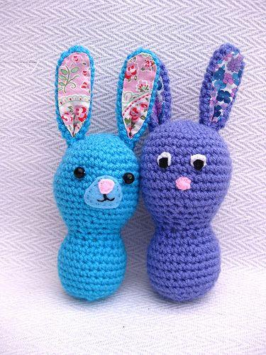 Crochet Baby Bunnies | Häkeln