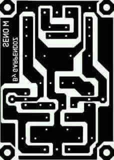 PCB Power Supply CT 15V | Amplificador de áudio, Esquemas ...