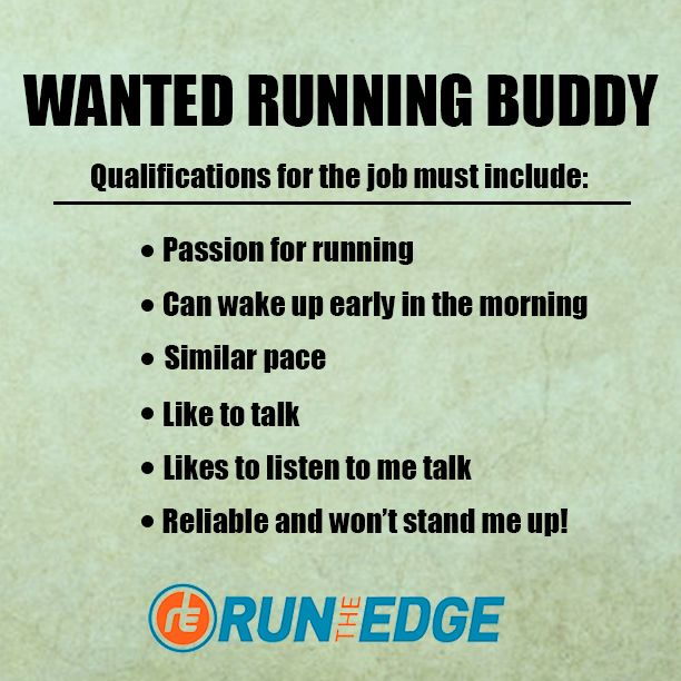 In need of a running buddy? Here\'s a funny ad to quote ...