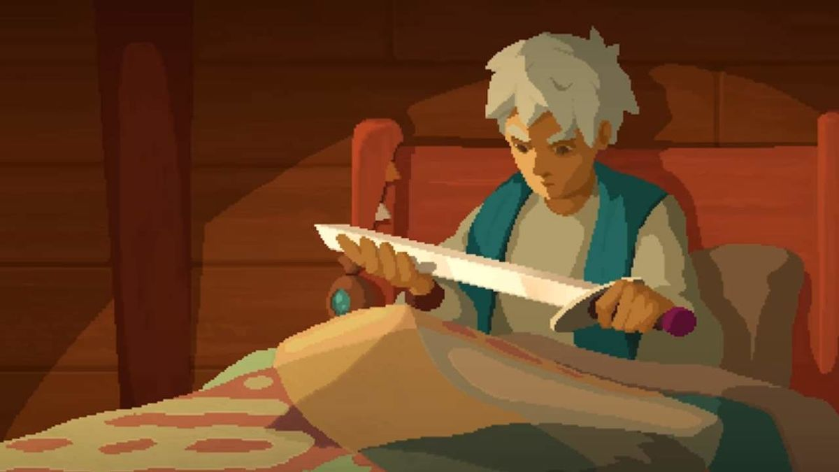 Moonlighter Is An Addictive Dungeon Crawling Town Builder Indie Game Art Pixel Art Tutorial Pixel Art