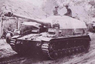 10,5 cm K18 auf Panzer Selbstfahrlafette IV